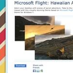 Letölthető Microsoft Flight téma a Windowshoz