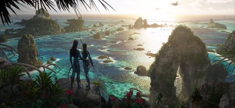 Ez történt: lenyűgöző képeket tettek közzé az Avatar 2-ről
