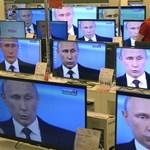 Putyin keze már a gázcsapon