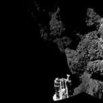 Hatalmas felfedezést tett a Philae az üstökösön