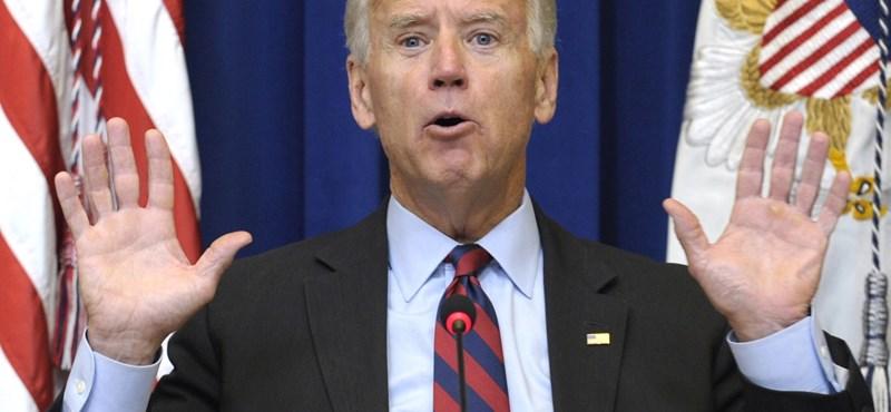Joe Biden visszalépett, nem indul Hillary Clinton ellen