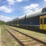 Egy-másfél órát késhetnek a vonatok a Budapest-Cegléd-vonalon