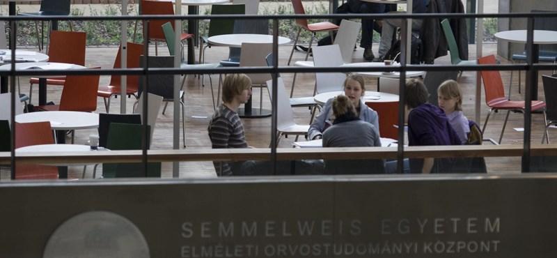 Felvételi 2014: ennyien kerülhetnek be a Semmelweis Egyetemre