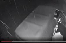 Kinyitotta az ajtót a medve, és beszállt az udvaron álló autóba