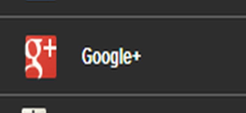 Ezt nézze meg: látványos, fekete Google-menü