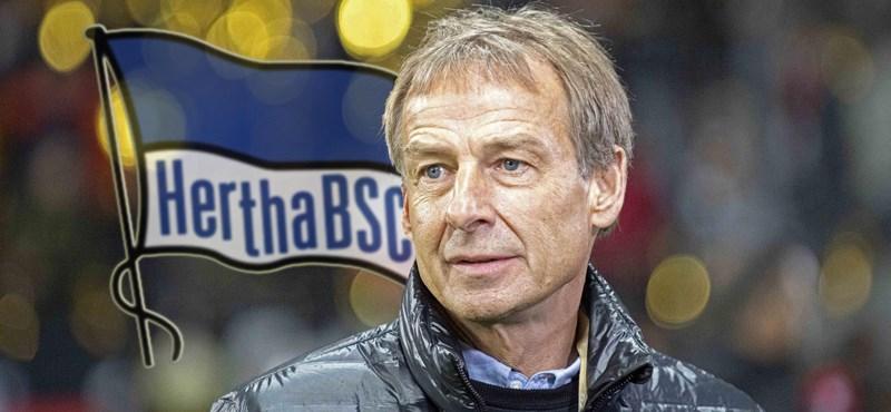 Csupán néhány hétig tartott Klinsmann kalandja a Herthánál