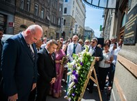 A roma holokauszt áldozataira emlékeztek Budapesten