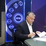 Orbán precízen végigkampányolta a péntek reggeli rádióinterjúját
