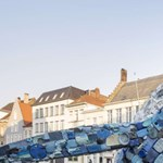 Öt tonna műanyag szemétből építettek bálnát Bruges-ben