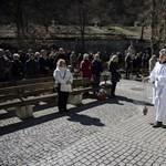 Szabadtéri misére álltak át Mátraverebélyen