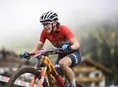 Camisetas de hombre ganadas, Mountain Bike fue Cata Blanca compitió milagrosamente - Este es el cuarto día de los Juegos Olímpicos