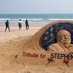 Csodás emléket állítottak Stephen Hawkingnak Kelet-Indiában