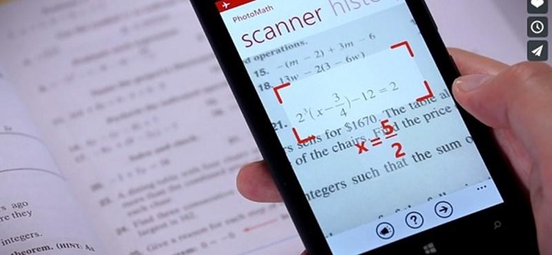 Hihetetlen, de ez az alkalmazás még a legbonyolultabb matekpéldákat is megoldja