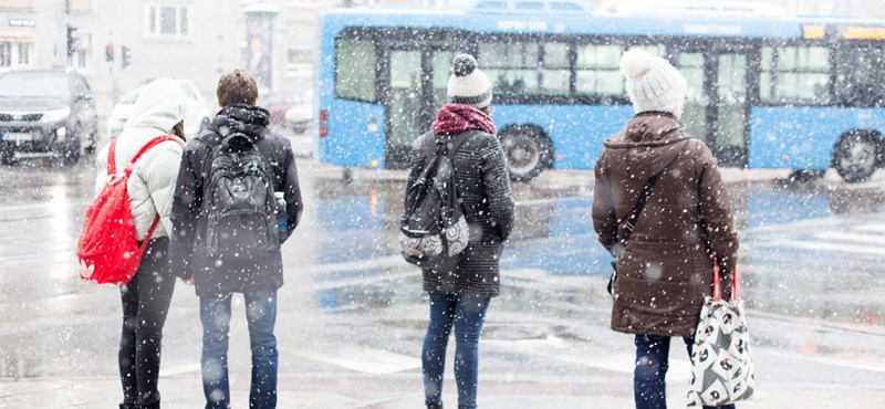 Délutántól nyugatról ismét jön a hó