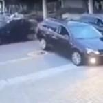 Instant karma: keménykedett a Volkswagen-sofőr, 5 másodperc alatt megbánta – videó