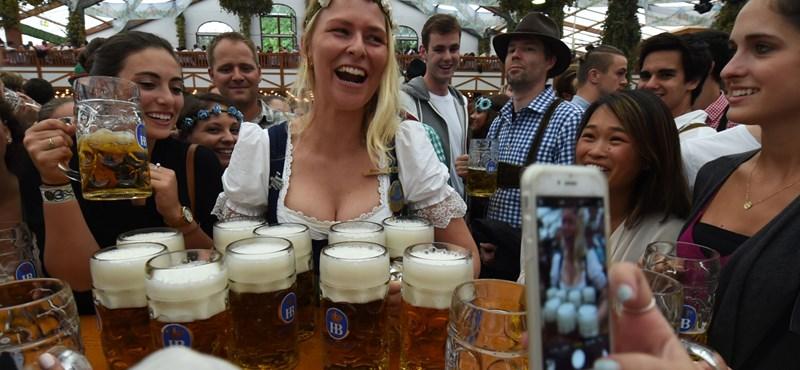 Csak mi, magyarok drágálljuk a sört a müncheni Oktoberfesten?