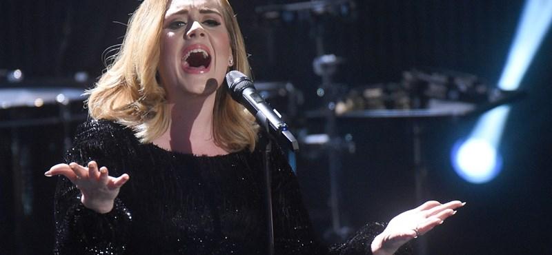 Adele kiakadt a szoptatáslobbin