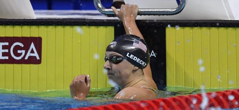 5 másodpercet vert saját világrekordjára Hosszú Katinka riválisa