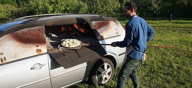Street food minimál: pizzakemenceként végezte ez a Ford Mondeo