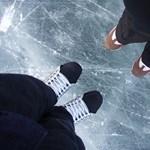 Jégpályák, jeges programok a Balatonon