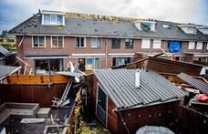 Forgószél okozott súlyos károkat Hollandiában
