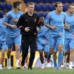 A holland csapattársak Robben ellen szurkoltak a BL-döntőn