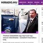 Áder-interjúval indul a dizájnt váltott Híradó.hu