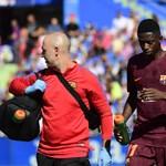 Hónapokra kidőlt a legdrágább Barcelona-játékos