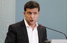 Nem mondhat le az ukrán kormányfő, Zelenszkij vizsgálatot indított