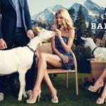Miranda Kerr fejét torzítják a Bally kampányában