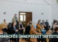 Harmincfős rendezvényen emlékeztek egy koronavírusban elhunyt ápolónőre Dunavarsányban