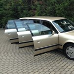 Nem csak 7 üléses, de hat ajtós is ez a 26 éves Audi ritkaság