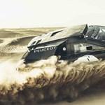 Összeállt az álomcsapat a Peugeot megvadított Dakar versenyautójához