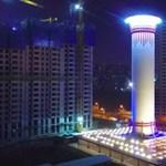 100 méter magas, óriási torony: bekapcsolták a világ legnagyobb légtisztítóját