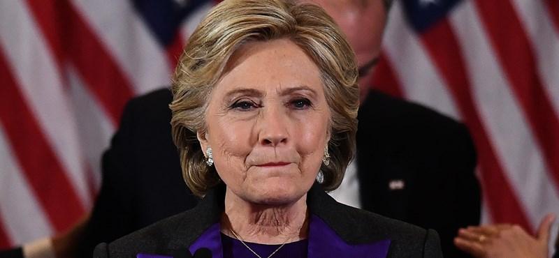 Clinton: Trumpot perbe fogták volna, ha nem elnök