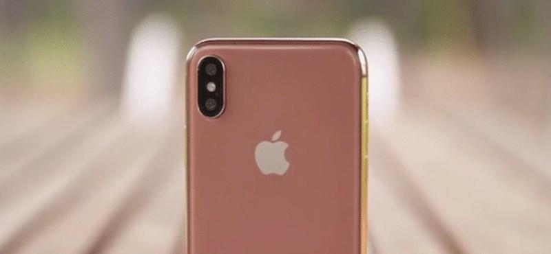 Fotók: Jön az aranyszínű iPhone X