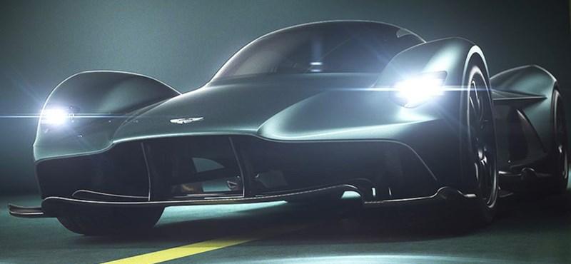 Kémvideón a 0-ról 320 km/h-ra 10 másodperc alatt gyorsuló titkos sportkocsi