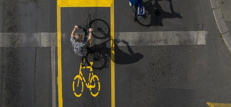 Óriásit nőtt a kerékpáros forgalom Budapesten