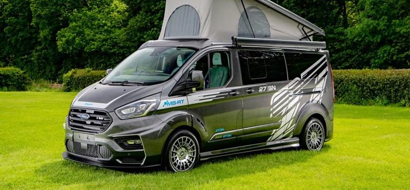Egy Ford Transitból is lehet ötcsillagos lakókocsi, csak az árát ne kérdezzék