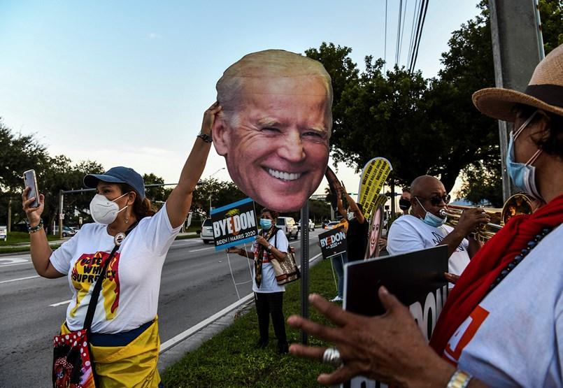 Ha most érne véget a szavazatok számlálása, Joe Biden lenne az USA elnöke