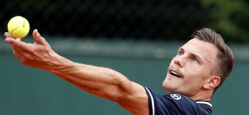 Szófiai tenisztorna: Fucsovics döntős, kemény ellenfelet kapott