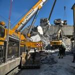 Genovai hídomlás: még 20 eltűnt lehet