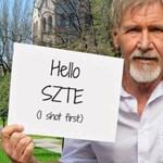 A szegedi egyetemen is jelenség lett Harrison Ford