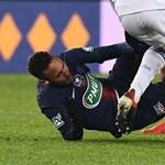 Neymar hónapokra kidőlt