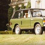 Károly és Diana adja ennek a Range Rovernek a pedigrét - nem is olcsó