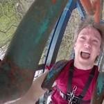 Hátborzongató videó egy magánvidámparkról – ön felülne A Halál Biciklijére?