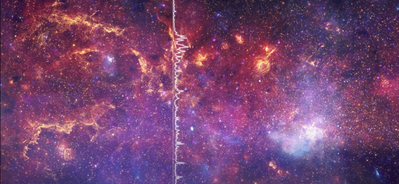 Videó: 26 000 fényévre néztek el a NASA tudósai, most meghallgathatja, mit láttak