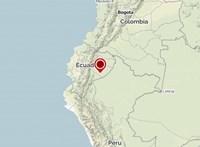 7,7-es erősségű földrengés volt Ecuadorban