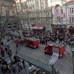 Galéria: kigyulladt az Operettszínház