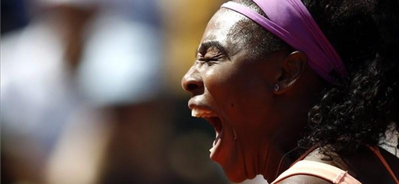 Kikapott a döntőben Serena Williams